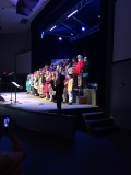 Students performing in MSP 2016 Winter Performance